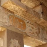 Hieroglypen im Karnak Tempel Luxor - Ägypten