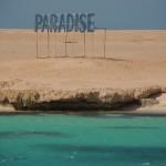 Ankunft an der Paradise Beach mit ihrem kristallklaren Wasser Grand Giftun - Hurghada