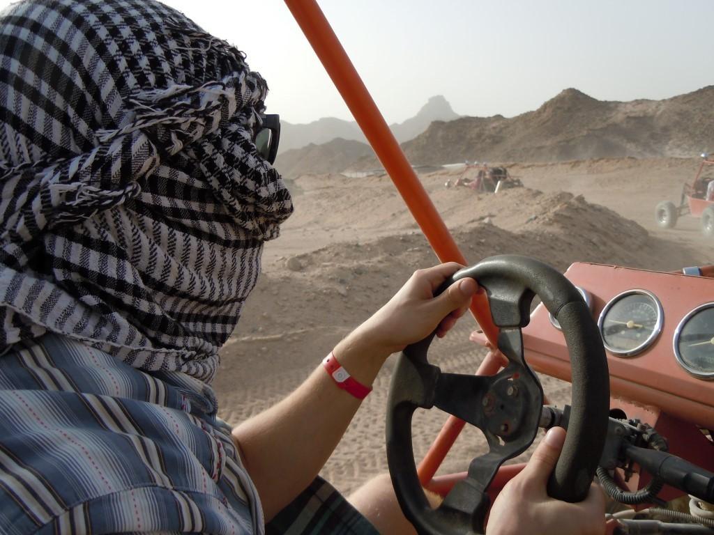 Buggy fahren in der Wüste Hurghada