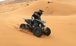 Mit dem Quad durch die Dünen rund um Hurghada